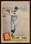 1962 Topps #141 GRN  -  Babe Ruth Twilight Years Front Thumbnail