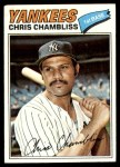 1977 Topps #220  Chris Chambliss  Front Thumbnail