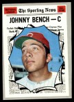 1970 Topps #464   -  Johnny Bench All-Star Front Thumbnail