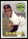 1969 Topps #453  Mike Cuellar  Front Thumbnail