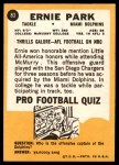 1967 Topps #83  Ernie Park  Back Thumbnail