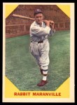 1960 Fleer #21  Rabbit Maranville  Front Thumbnail
