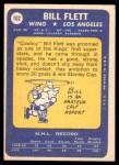 1969 Topps #102  Bill Flett  Back Thumbnail
