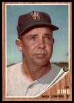 1962 Topps #42  Jim King  Front Thumbnail