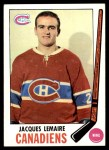1969 Topps #8  Jacques Lemaire  Front Thumbnail