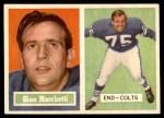 1957 Topps #5  Gino Marchetti  Front Thumbnail