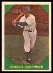 1960 Fleer #58  Charlie Gehringer  Front Thumbnail