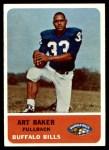 1962 Fleer #12  Art Baker  Front Thumbnail
