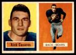 1957 Topps #55  Rick Casares  Front Thumbnail