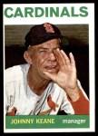 1964 Topps #413  Johnny Keane  Front Thumbnail