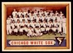 1957 Topps #329   White Sox Team Front Thumbnail
