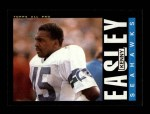 1985 Topps #384  Kenny Easley  Front Thumbnail