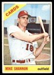 1966 Topps #293  Mike Shannon  Front Thumbnail