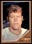 1962 Topps #287  George Witt  Front Thumbnail