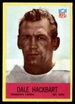 1967 Philadelphia #102  Dale Hackbart  Front Thumbnail