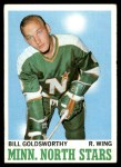 1970 Topps #46  Bill Goldsworthy  Front Thumbnail