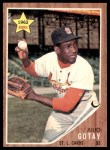 1962 Topps #489  Julio Gotay  Front Thumbnail