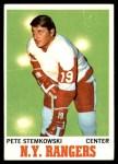 1970 Topps #25  Pete Stemkowski  Front Thumbnail