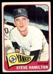 1965 Topps #309  Steve Hamilton  Front Thumbnail