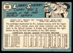 1965 Topps #408  Larry Sherry  Back Thumbnail