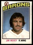 1976 O-Pee-Chee NHL #349  Jim Moxey  Front Thumbnail