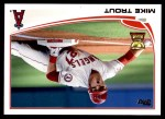 2013 Topps #27  Mike Trout   Front Thumbnail