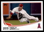2013 Topps #536  Mike Trout  Front Thumbnail