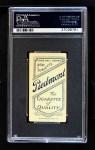 1909 T206  Harry Sentz  Back Thumbnail