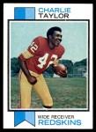 1973 Topps #236  Charlie Taylor   Front Thumbnail
