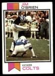 1973 Topps #379  Jim O'Brien  Front Thumbnail
