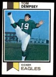 1973 Topps #59  Tom Dempsey  Front Thumbnail
