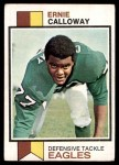 1973 Topps #394  Ernie Calloway  Front Thumbnail