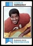 1973 Topps #282  Charlie Harraway  Front Thumbnail