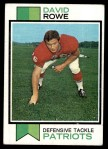 1973 Topps #436  Dave Rowe  Front Thumbnail