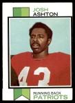 1973 Topps #303  Josh Ashton  Front Thumbnail