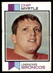 1973 Topps #269  Chip Myrtle  Front Thumbnail
