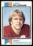 1973 Topps #213  Larry Willingham  Front Thumbnail