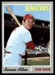 1970 Topps #577  Bernie Allen  Front Thumbnail