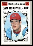 1970 Topps #469   -  Sam McDowell All-Star Front Thumbnail