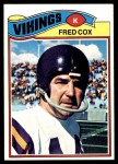 1977 Topps #46  Fred Cox  Front Thumbnail