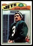 1977 Topps #34  Duane Carrell  Front Thumbnail