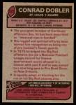 1977 Topps #322  Conrad Dobler  Back Thumbnail