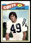 1977 Topps #482  David Lee  Front Thumbnail