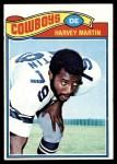 1977 Topps #427  Harvey Martin  Front Thumbnail