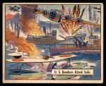 1941 Gum Inc. War Gum #111   U.S. Bombers Attack Subs In Aleutians Front Thumbnail