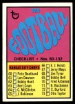 1967 Topps #132   Checklist # 60-132 Front Thumbnail