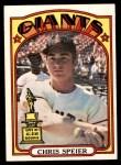 1972 O-Pee-Chee #165  Chris Speier  Front Thumbnail