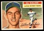 1956 Topps #20  Al Kaline  Front Thumbnail