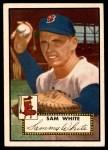 1952 Topps #345  Sammy White  Front Thumbnail