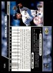 1999 Upper Deck #154  Derek Jeter  Back Thumbnail